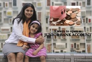 JUNIOUR BANK ACCOUNT